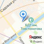 Asteria на карте Санкт-Петербурга