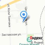 ФАВОР-ГАРАНТ на карте Санкт-Петербурга