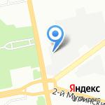 Научное и технологическое оборудование на карте Санкт-Петербурга