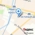 Галерея Алексея Рычкова на карте Санкт-Петербурга
