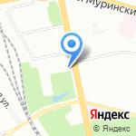 Центр красоты на карте Санкт-Петербурга