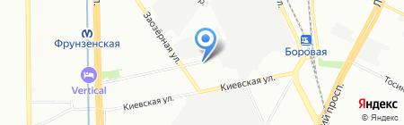 Про-спорт на карте Санкт-Петербурга