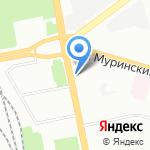Точка Света на карте Санкт-Петербурга