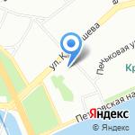 Росдорбанк на карте Санкт-Петербурга