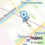 Ваш Брокер на карте Санкт-Петербурга