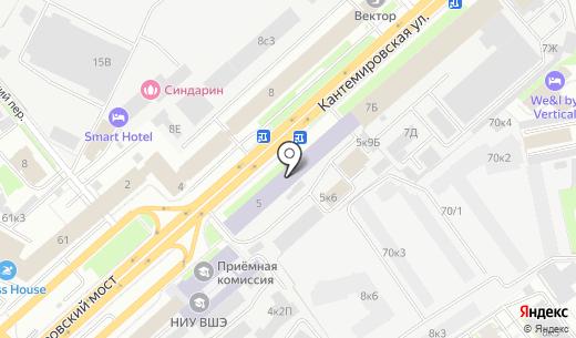 Звезда. Схема проезда в Санкт-Петербурге