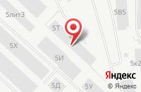 Схема проезда до компании Производственное Предприятие «Контур» в Санкт-Петербурге