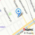 Надежда на карте Санкт-Петербурга