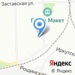 Контелсервис на карте Санкт-Петербурга