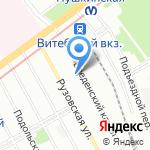 Разбег Лоджистикс на карте Санкт-Петербурга