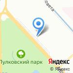 Софтджойс на карте Санкт-Петербурга