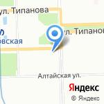 Тачанка на карте Санкт-Петербурга