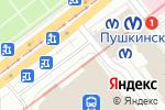 Схема проезда до компании ВИТЕБСКIЙ ЭКСПРЕССЪ в Санкт-Петербурге