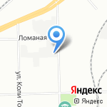 БалтКомплект на карте Санкт-Петербурга