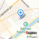 ZnS на карте Санкт-Петербурга
