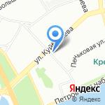Лабиринт на карте Санкт-Петербурга