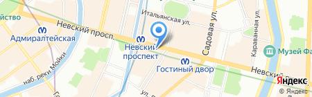 Невский 31 на карте Санкт-Петербурга