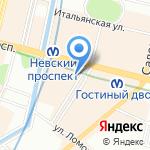 Детская музыкальная школа им. Н.А. Римского-Корсакова на карте Санкт-Петербурга