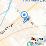 От Розы на карте Санкт-Петербурга
