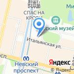 Beluga delux на карте Санкт-Петербурга