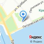 Студия красоты Миши Васильева на карте Санкт-Петербурга