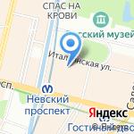 Instinct на карте Санкт-Петербурга