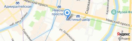 МУЖСКАЯ ОДЕЖДА на карте Санкт-Петербурга