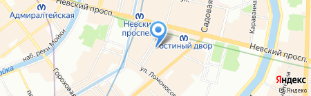 Cluboptica на карте Санкт-Петербурга