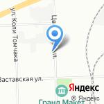 Пам Лимитед на карте Санкт-Петербурга