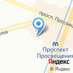 Детский сад №135 комбинированного вида на карте Санкт-Петербурга