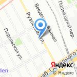 Славяне на карте Санкт-Петербурга