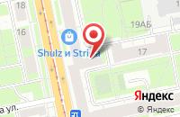 Схема проезда до компании Коммуналсвязь в Санкт-Петербурге