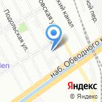 МАГНАТ на карте Санкт-Петербурга