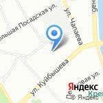 Анима на карте Санкт-Петербурга