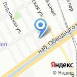 Меридиан на карте Санкт-Петербурга