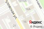Схема проезда до компании Банк Оранжевый в Санкт-Петербурге