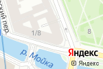 Схема проезда до компании Maker Design Loft в Санкт-Петербурге