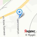 Индустрия цвета на карте Санкт-Петербурга