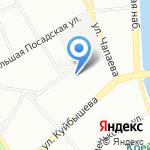Агапе на карте Санкт-Петербурга
