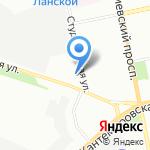 Имага на карте Санкт-Петербурга