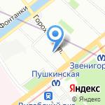 Сонатория на карте Санкт-Петербурга