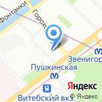 Ем-Ем на карте Санкт-Петербурга