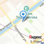 ГЕЗА КОМ на карте Санкт-Петербурга