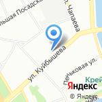Mj market на карте Санкт-Петербурга