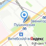 Доктор Нона на карте Санкт-Петербурга
