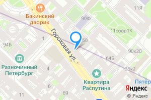 Комната в однокомнатной квартире в Санкт-Петербурге Гороховая ул., 58