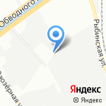 Точка на карте Санкт-Петербурга