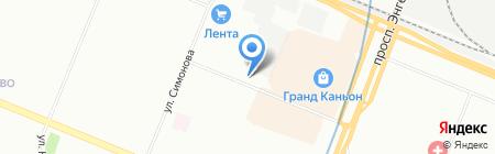 ЕвроМебель на карте Санкт-Петербурга