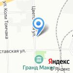 MAKI studio на карте Санкт-Петербурга