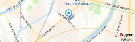 Хлопковый рай на карте Санкт-Петербурга